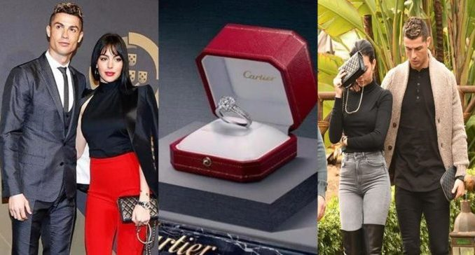 Cristiano Ronaldo Engaged Girlfriend With 615 000 Ring