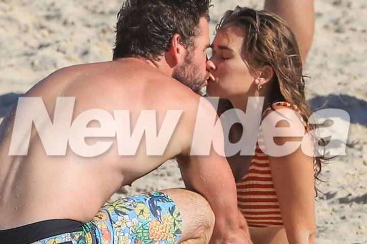 Image result for liam hemsworth kissing gabriella brooks